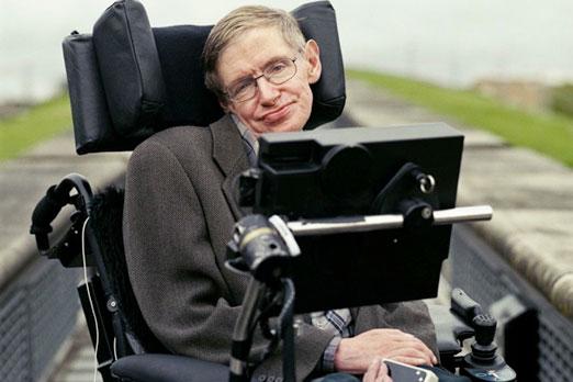 Stephen Hawking visitó España