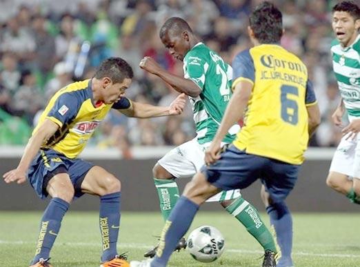 América enfrenta a Santos en el Estadio Coronoa de TSM