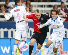 Atlas contra Querétaro juego de la Jornada 11