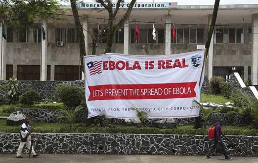 primer caso de de ebola reportado