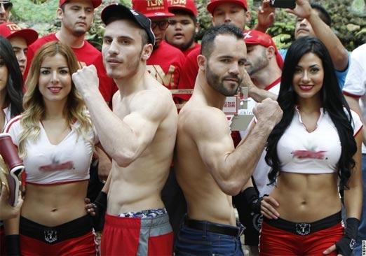 Omar Chávez vs Ramón Canelo Álvarez este sábado 27 de Septiembre