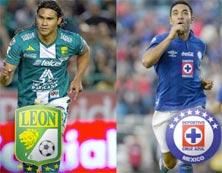 León enfrenta a Cruz Azul en el Estadio Azul