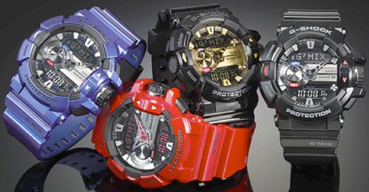 G-Shock, novedades de Casio