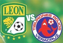 León enfrenta a Veracruz en un juego importante