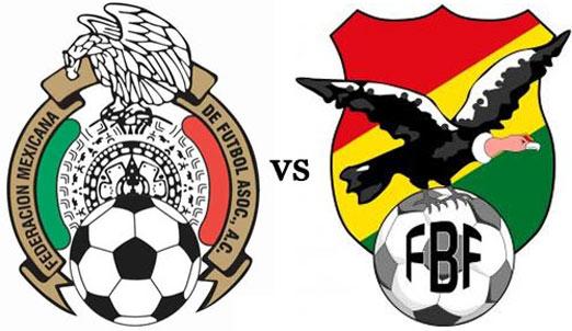 México enfrenta a Bolivia, juego amistoso