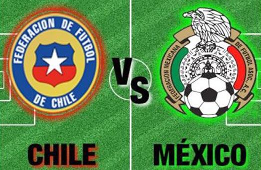 México contra Chile, amistoso