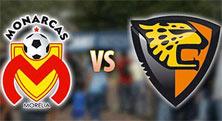 Monarcas de Morelia vs Jaguares de chiapas, jornada 8