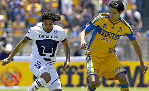 Pumas enfrenta a Tigres este domingo
