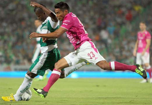 Santos enfrenta al León, juego de la Jornada 8