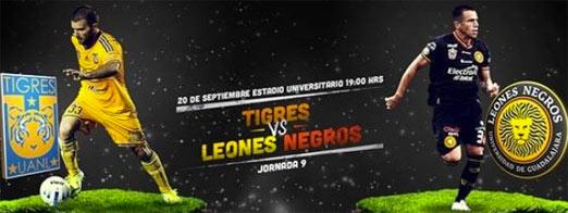 Tigres enfrenta a Leones Negros en un juego complicado
