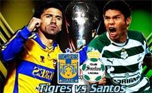 Tigres de la UANL contra Santos Laguna, Jornada 11