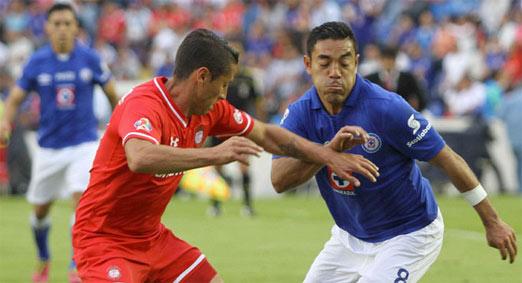 Toluca enfrenta a Cruz Azul en el Estadio Azul