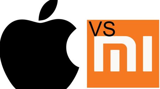 Apple acusa a  Xiaomi