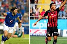 Alajuelense contra Cruz Azul en la Concachampions 2014