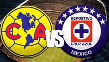 America enfrenta a Cruz Azul en el Estadio Azul del DF
