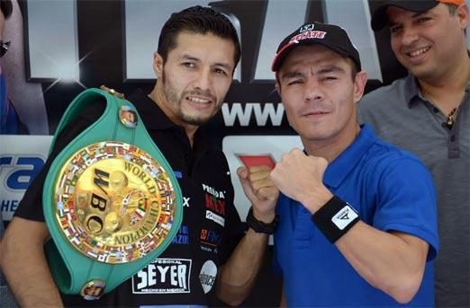 Travieso Arce enfrenta a Jhonny González, pelea de box