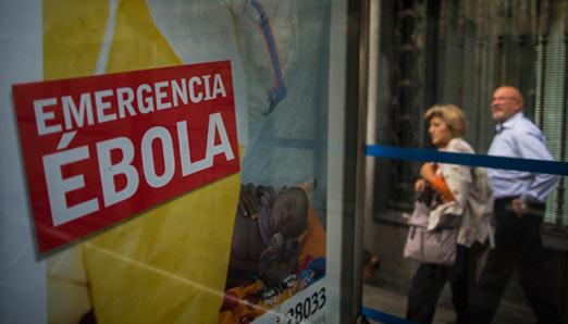 primer caso de ebola