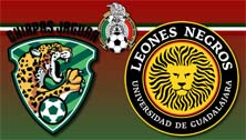 Jaguares vs Leones Negros en la Jornada 11