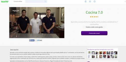 Clases cocina online