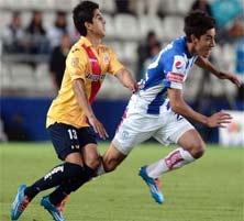 Morelia enfrenta al Pachuca en un juego relativamente interesante