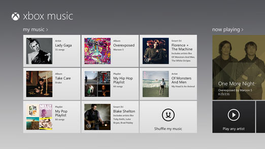 Xbox Music tendrá un