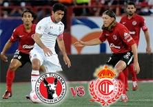 Xolos de Tijuana contra Diablos Rojos del Toluca, juego del 31 de Octubre