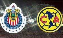 América enfrenta a Chivas en el Estadio Azteca