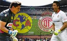 América contra Toluca este domingo 9 de noviembre