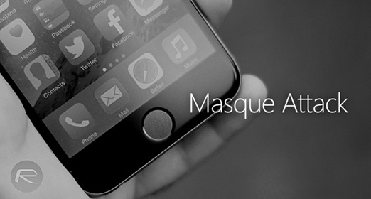 Masque Attack virus para iOS