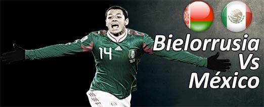 México enfrenta a Bielorrusia est 18 de noviembre