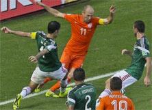 México enfrenta a Holanda este 12 de Noviembre de 2014
