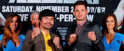 Pacquiao contra Algieri en China