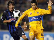 Querétaro contra Tigres el 1 de Noviembre