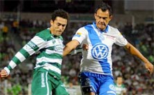 Santos Laguna enfrenta a Club Puebla este 22 de noviembre