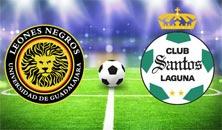 Leones Negros contra Santos Laguna el sábado 1 de noviembre