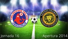 Veracruz contra Leones Negros,  Jornada 16