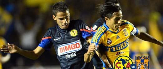 Tigres vs América, final, juego de vuelta del Apertura 2014