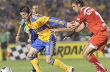 Toluca contra Tigres en el juego de vuelta