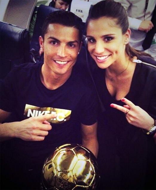 Cristiano Ronaldo junto a Lucía Villalón, un nuevo posible romance
