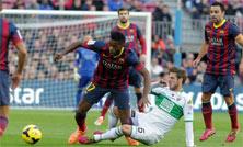 Barcelona contra Elche, octavos de final