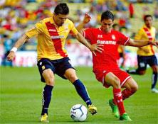 Monarcas contra Toluca, juego del 9 de enero