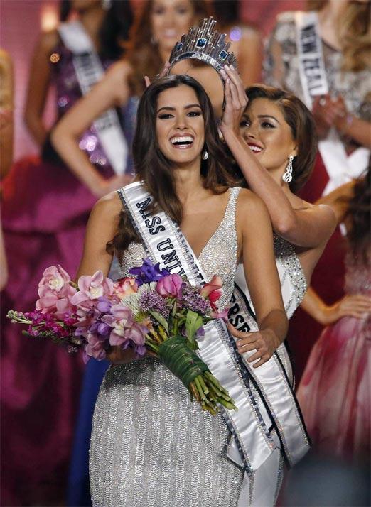 Paulina Vega es Miss Universo 2015, la modelo colombiana de 22 años