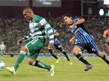 Santos contra Querétaro, juego de la Jornada 4