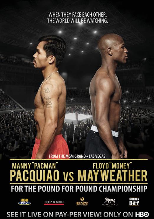 Mayweather contra Paquiao la pelea más