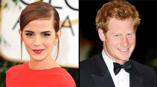 Emma Watson desmiente rumor de la relación que supuestamente tenia con el principe
