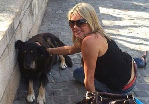 Louis Curtis mujer de 49 años se subasto en eBay