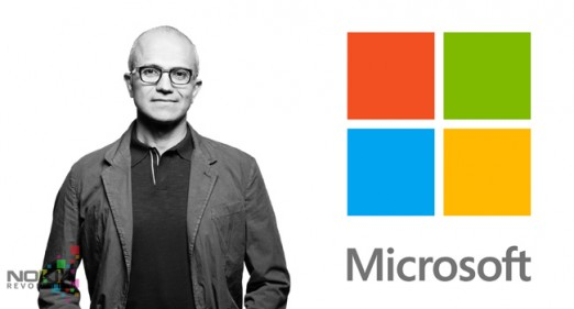 Nadella CEO de microsoft que tiene poco de ser el lider