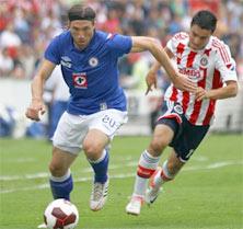 Cruz Azul enfrenta a Chivas en el Estadio Azul