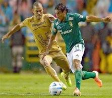 León enfrenta a Pumas en la Jornada 5