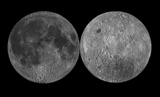 La NASA muestra el otro lado de la luna